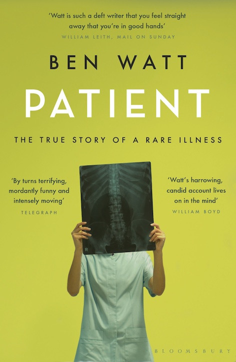 My self-read audiobook of Patient is out now
