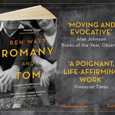 Paperback of Romany and Tom