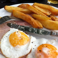 Ham, Egg and Chips