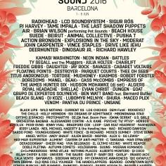 See me at Primavera Festival 2016
